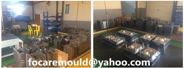 China 2K moldes