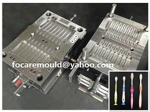 China 2 componente cepillo de dientes fabricante de moldes