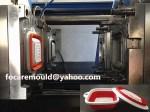 China dos color coladores molde elastomero