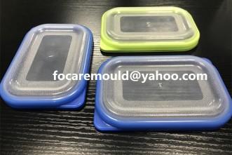 Tapa de la caja de la comida del molde 2k