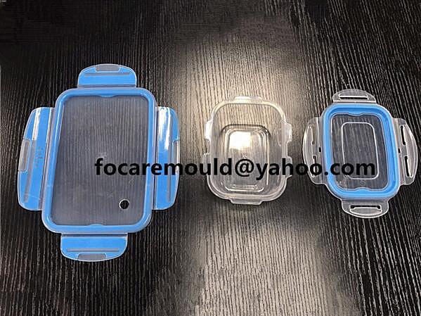 caja fresca de plastico de doble molde